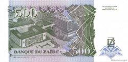 500 Nouveaux Zaïres ZAÏRE  1994 P.64 NEUF