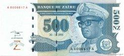 500 Nouveaux Zaïres ZAÏRE  1995 P.65 NEUF
