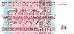 5000 Nouveaux Zaïres ZAÏRE  1995 P.68 SUP
