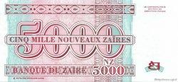 5000 Nouveaux Zaïres ZAÏRE  1995 P.69 pr.NEUF