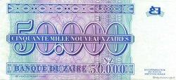 50000 Nouveaux Zaïres ZAÏRE  1996 P.74 SPL