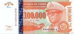 100000 Nouveaux Zaïres ZAÏRE  1996 P.76 pr.NEUF