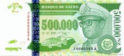 500000 Nouveaux Zaïres ZAÏRE  1996 P.78a pr.NEUF