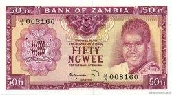 50 Ngwee ZAMBIE  1969 P.09b NEUF
