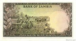 1 Kwacha ZAMBIE  1976 P.19a NEUF