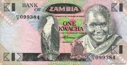 1 Kwacha ZAMBIE  1980 P.23b TTB