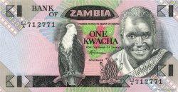 1 Kwacha ZAMBIE  1980 P.23b SUP