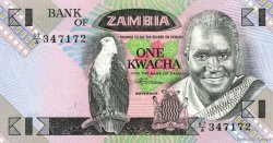 1 Kwacha ZAMBIE  1980 P.23b NEUF