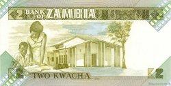2 Kwacha ZAMBIE  1980 P.24a NEUF