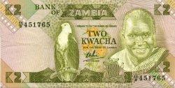 2 Kwacha ZAMBIE  1980 P.24b TTB+
