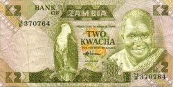 2 Kwacha ZAMBIE  1980 P.24c TTB