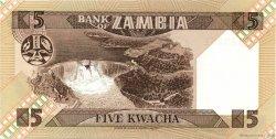 5 Kwacha ZAMBIE  1980 P.25a NEUF