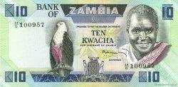10 Kwacha ZAMBIE  1980 P.26c SUP