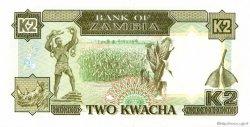 2 Kwacha ZAMBIE  1989 P.29a NEUF