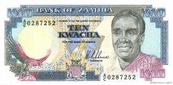 10 Kwacha ZAMBIE  1989 P.31a NEUF