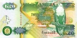 20 Kwacha ZAMBIA  1992 P.36b aUNC