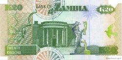 20 Kwacha ZAMBIE  1992 P.36b pr.NEUF