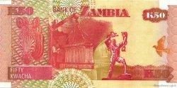 50 Kwacha ZAMBIE  2007 P.37var NEUF