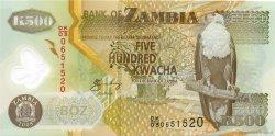 500 Kwacha ZAMBIE  2008 P.43f NEUF