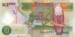1000 Kwacha ZAMBIE  2008 P.44f NEUF