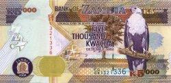 5000 Kwacha ZAMBIE  2008 P.45d NEUF