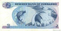 2 Dollars ZIMBABWE  1980 P.01a TTB+