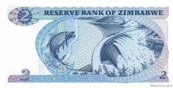 2 Dollars ZIMBABWE  1980 P.01a pr.NEUF