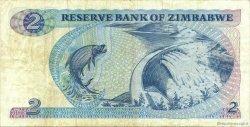 2 Dollars ZIMBABWE  1983 P.01b TTB