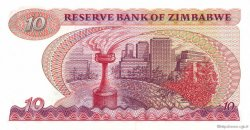 10 Dollars ZIMBABWE  1980 P.03a NEUF