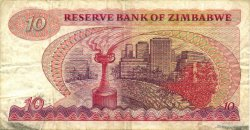 10 Dollars ZIMBABWE  1983 P.03d TB