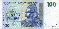 100 Dollars ZIMBABWE  2007 P.69 TTB