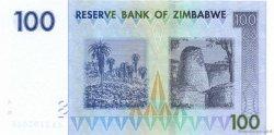 100 Dollars ZIMBABWE  2007 P.69 pr.NEUF