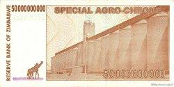 50 Billion Dollars ZIMBABWE  2008 P.63 TTB à SUP