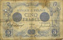 5 Francs BLEU FRANCE  1912 F.02.06 B