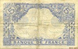 5 Francs BLEU FRANCE  1915 F.02.24 pr.TTB