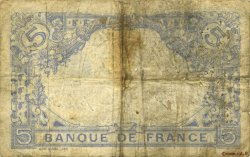 5 Francs BLEU FRANCE  1915 F.02.25 B+
