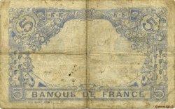 5 Francs BLEU FRANCE  1915 F.02.33 pr.TB