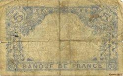 5 Francs BLEU FRANCE  1916 F.02.39 pr.B