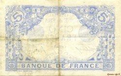 5 Francs BLEU FRANCE  1916 F.02.39 TTB+