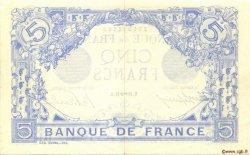 5 Francs BLEU FRANCE  1916 F.02.45 pr.SPL