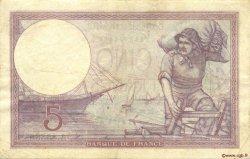 5 Francs VIOLET FRANCE  1931 F.03.15 TB à TTB