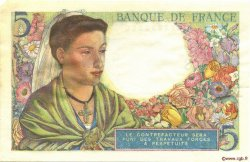 5 Francs BERGER FRANCE  1943 F.05.05 SPL