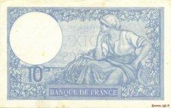 10 Francs MINERVE modifié FRANCE  1939 F.07.03 SUP