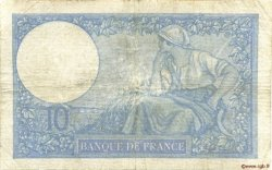 10 Francs MINERVE modifié FRANCE  1940 F.07.25 B+