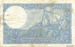 10 Francs MINERVE modifié FRANCE  1941 F.07.29 TB+