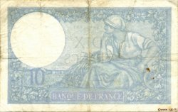 10 Francs MINERVE modifié FRANCE  1941 F.07.30 TB+