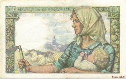 10 Francs MINEUR FRANCE  1942 F.08.04 SUP+