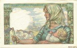 10 Francs MINEUR FRANCE  1945 F.08.14 pr.SPL