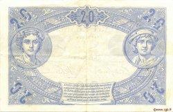 20 Francs BLEU FRANCE  1906 F.10.01 pr.SUP
