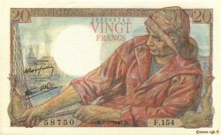 20 Francs PÊCHEUR FRANCE  1947 F.13.11 SPL+